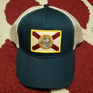 State of Florida flag trucker hat